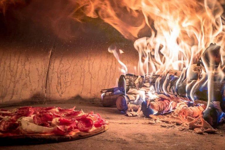 veugnsbakade pizzor